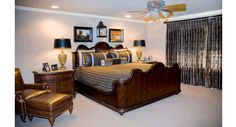 Guest Bedroom: Style is Tailored - custom bedding, draperies by Robin Rogers Interior Design