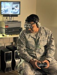 Virtual Reality Exposure Therapy (VRET) being studied by National Center for Telehealth and Technology (T2), a Defense Centers of Excellence for Psychological Health and Traumatic Brain Injury center.