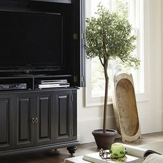 Potted Olive Tree - faux $350  ballarddesigns.com
