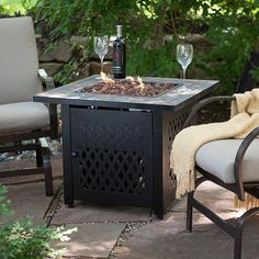 Patio Glow Fire Pit Table Costco   Best Cheap Modern Furniture Check More  At Http: