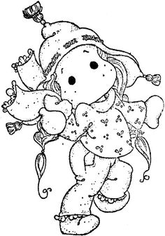 Winter Wonderland 2013 - In The Snow Scarf Tilda (1) Disney Coloring Pages, Colouring Pages, Coloring Books, Christmas Drawing, Christmas Art, Kids Stamps, Disney Colors, Pattern Illustration, Copics