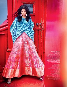 Rising star Bhumika Arora lands the February 2016 cover of Vogue India, wearing a print jacket and shorts from Louis Vuitton. Inside the magazine, the Indian model poses for Ruven Afanador in standout looks where East meets West. The spring collections of Dolce & Gabbana, Dries Van Noten, Prada and more are juxtaposed with leading …