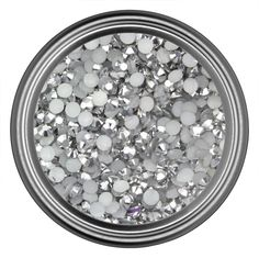 Silver Resin Rhinestones in 2mm 3mm 4mm 5mm 6mm for Flatback Nail Art Cabochon Diy Decoration and Craft (Mixed Sizes) -- You can find out more details at the link of the image.