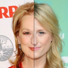 Meryl Streep And Mamie Gummer It's clear that Meryl's daughter is pretty much identical to her. The eyes, hair, mouth and nose are exactly the same.
