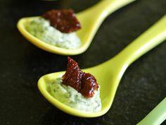 Décoration de plats : idées déco - Cuillères apéritives
