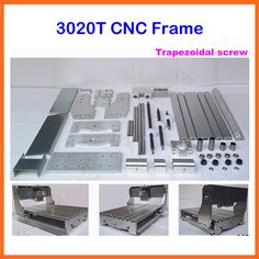 Free shipping 3020 CNC router,DIY CNC frame with trapezoidal screw