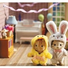 Calico critters <3