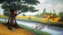 Tranh làng quê Việt Nam 006