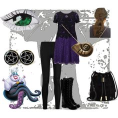 Ursula's Daughter by victorian-era-is-here on Polyvore