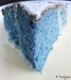Un gâteau... bleu !