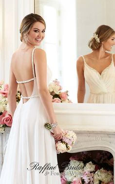 ravishing wedding dresses designer backless unique gown 2016 - 2017