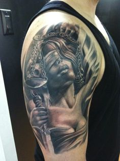 broken justice tattoo - Google Search