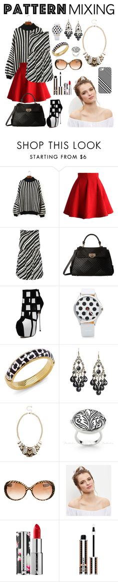 """fashion look n236."" by alemcboss ❤ liked on Polyvore featuring Chicwish, New Look, Gabriella Rocha, Diane Von Furstenberg, Bottega Veneta, Givenchy and Casetify"