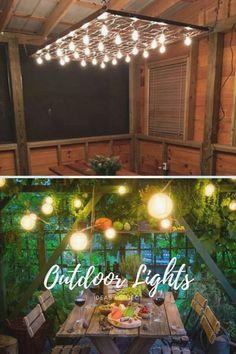 Best ideas for diy outdoor lights Pathways, Outdoor Lighting, Lighting Design, Living Spaces, Planters, Backyard, Exterior, Good Things, Lights