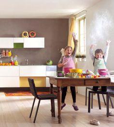 ... per cucina  casa nuova  Pinterest  Vintage, Industriale e Interni