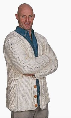 Free crochet pattern: To Aran Is Human by Drew Emborsky, aka The Crochet Dude