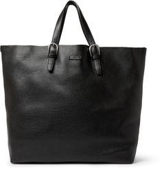 GucciFull Grain Leather Tote Bag|MR PORTER... I love men's bags!!!