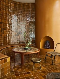 Boutique Spa, Clay Tiles, Kelly Wearstler, Contemporary Interior Design, Historical Architecture, Commercial Interiors, Textures Patterns, Lighting Design, Interior And Exterior