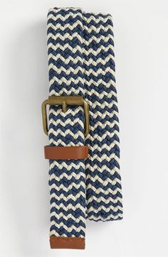 Topman Woven Belt available at #Nordstrom