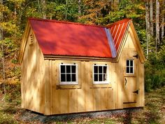 DIY Plans 8x12 Doll House Shed Kids Playhouse Backyard Outdoor Tool Storage | eBay