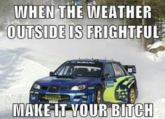 :) Subies ...Except in Texas, we pray for schools and businesses to close if there's even just a dusting of snow =P
