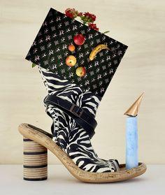 Schuh-Skulpturen