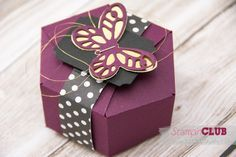 20150616Stampin Up Sechseck-Box Stanz und Falzbrett für Geschenktüten Swap Giftbag Punch Board_-3