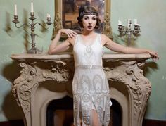 20er Jahre Outfits für Frauen - Flapper Kleid
