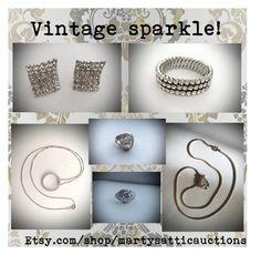 """Vintage sparkle!"" by martysattic ❤ liked on Polyvore featuring vintage"