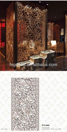 Restaurant Partition Screen Photo, Detailed about Restaurant Partition Screen…