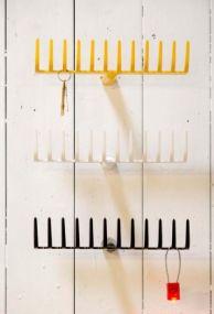 Funky key racks, see blog for where to buy