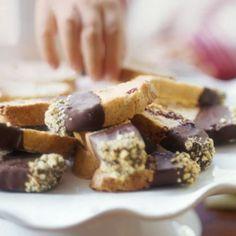 Chocolate-Cranberry-Pistachio Biscotti | Williams Sonoma