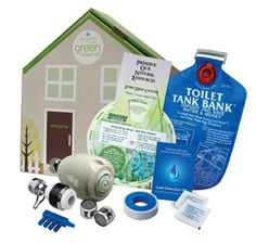 water saving kit for the home