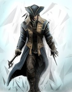 Captain connor kenway by ~chimicalstar on deviantART