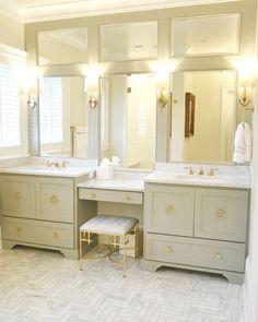 Bathroom Vanity With Makeup Counter Granite Bathroom Vanity - Bathroom vanities orange county