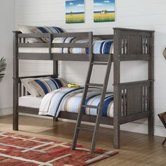 375 (29)Found it at Wayfair - Princeton Twin Over Twin Bunk Bed