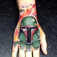 Nice Boba Fett but IDK bout the the spot it's on