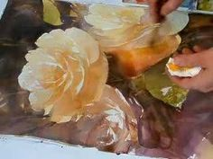 Part 4 of 5 - Tutorial - Painting a Yellow Rose
