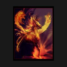 Awesome 'FIRE+ELEMENTAL' design on TeePublic!