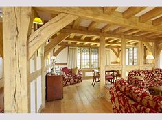 Bespoke oak framed buildings and garden rooms Oak Framed Buildings, Oak Frame House, Country Estate, Country Homes, Energy Efficient Homes, Post And Beam, Modern Architecture, Room, Timber Frames