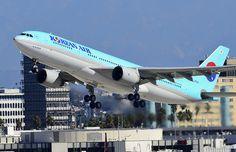 HL7552 Korean Air Airbus A330-223 (cn 258) | Los Angeles - I… | Flickr