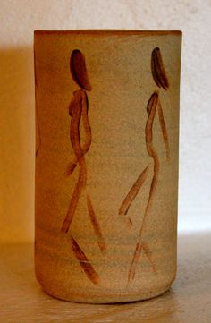 Silhouette vase - Katherine Scrivens