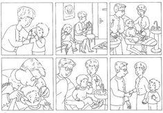 taal, taaldenken, logische reeksen. pragmatiek/integratie, stripverhaal. thema: tandarts.