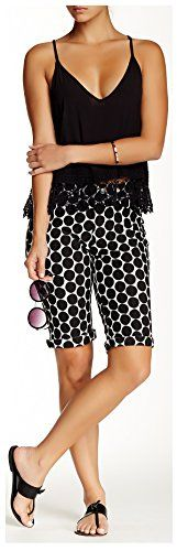 Hue Dot Print Pique Boyfriend Shorts Large 1214 >>> Continue to the product at the image link. Casual Shorts, Denim Shorts, Boyfriend Shorts, Knits, Short Dresses, Image Link, Cocktail, Tees, Awesome