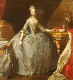 Antoinette and her sisters: Maria Johanna Gabriela Josepha Antonia Habsburg-Lorraine (1751-1767).