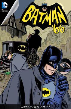 Comics Bulletin Exclusive Preview – Batman '66 # 50 from DC Comics!