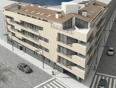 NAVI Building. Residential Navas. Barcelona (Spain) QIDStudio. Artur Fuster Architects
