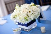 Fort George Island Wedding by Szarmack Photography | Style Me Pretty