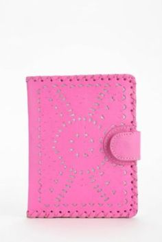 Cleobella Mexicana Painted Small Leather Wallet