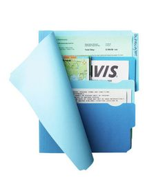 Divide-It-Up File Folder, perfect for keeping your insurance and registration information in your glove compartment.